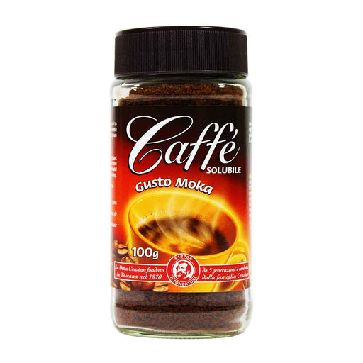 Crastan - Instant Gusto Moka Coffee, 3.5 oz.