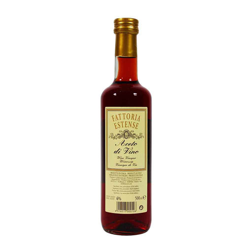 Fattoria Estense - Red Wine Vinegar, 16.9 oz.