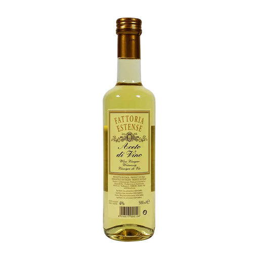 Fattoria Estense - White Wine Vinegar, 16.9 oz.
