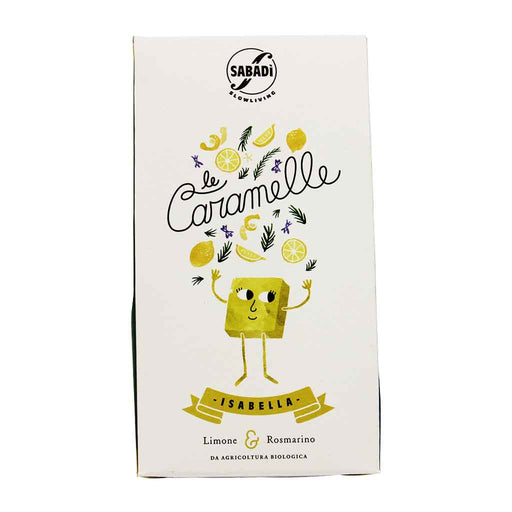 Sabadi - Organic Isabella Lemon & Rosemary Candy, 2.8 oz.