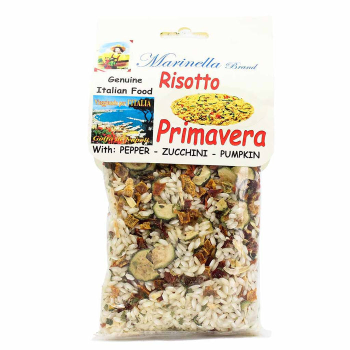 Italian Risotto Mix with Pepper, Zucchini and Pumpkin by Marinella 7 oz