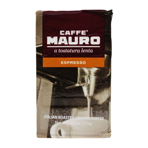 Mauro ‑ Ground Espresso, 8.8 oz. Brick