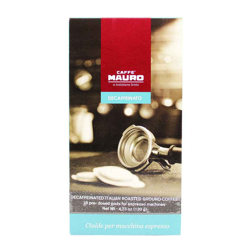 Caffe Mauro Decaf Coffee Pods, 4.2 oz.