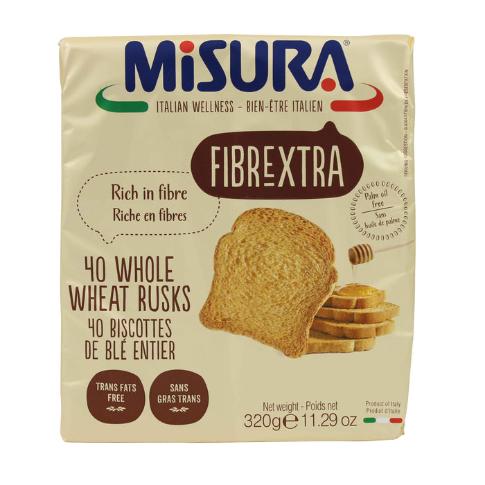 Misura Whole Wheat Rusks, 11.2 oz.