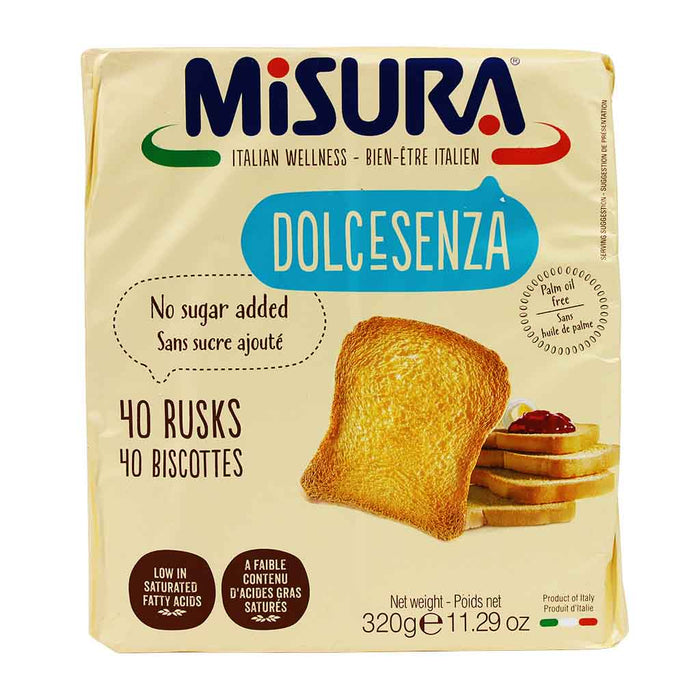 Misura No Sugar Added Rusks, 11.2 oz.