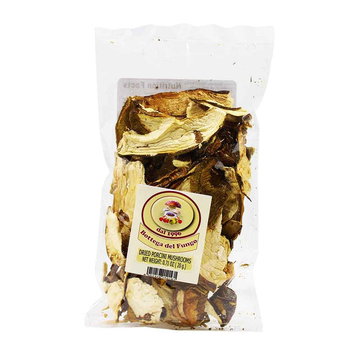 Bottega Del Fungo - Italian Dried Porcini Mushrooms, 0.7 oz.