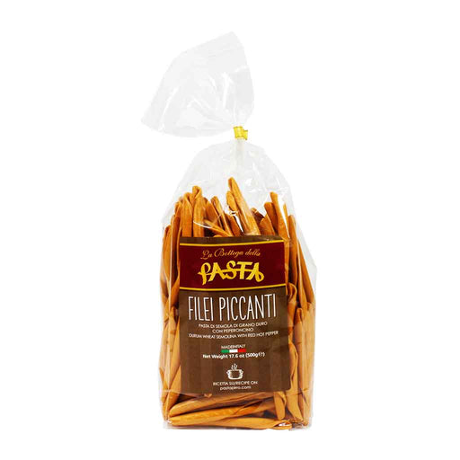 La Bottega - Hot Pepper Filei Piccanti Pasta, 17.6 oz.