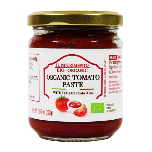 Probios - Organic Tomato Paste, Locally Sourced, Product of Italy, 7 oz.