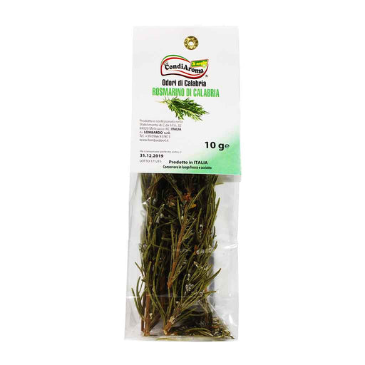 Calabrian Dried Rosemary, Whole Stem, by CondiAroma, 0.3 oz.