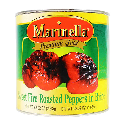 Marinella - Italian Sweet Roasted Peppers, 88 oz.
