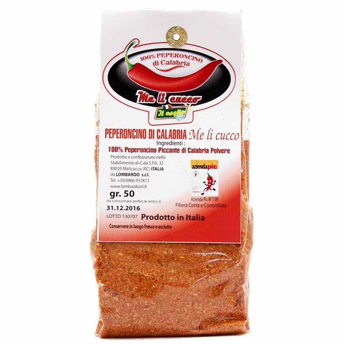 Calabrian Spicy Chili Pepper Powder by Lombardo 1.76 oz