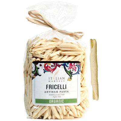 Marella Handmade Organic Fricelli Pasta from Italy, 17.6 oz (500 g)