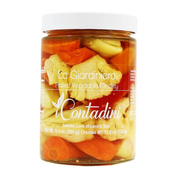I Contadini Premium Pickled Vegetable Medley, 19.4 oz