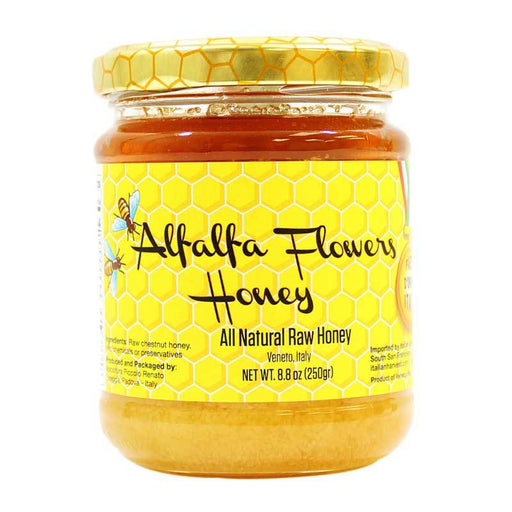 Piccolo Renato – Alfalfa Flower Honey, 8.8 oz (250 g)
