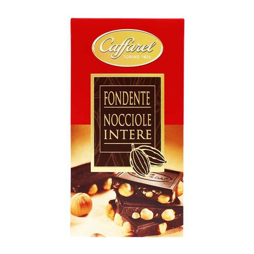 Caffarel Ð Dark Chocolate Bar with Whole Hazelnuts, 5.3 oz (150 g)