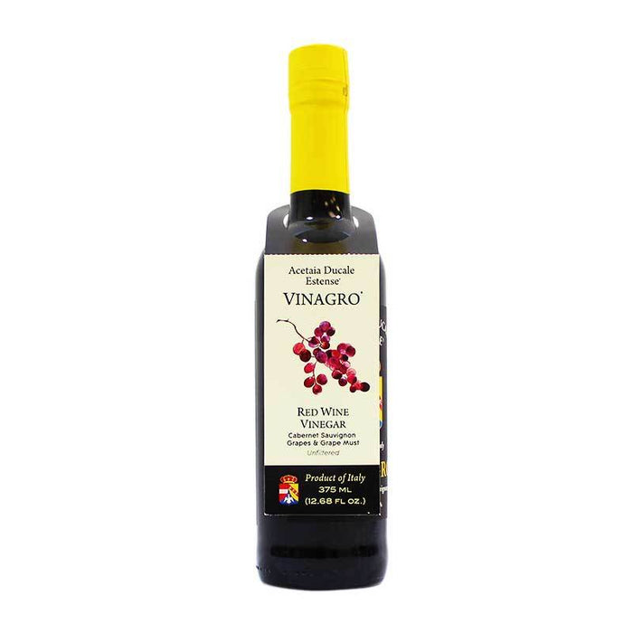 Acetaia Ducale Estense Red Wine Vinegar, 12.68 fl oz (375 ml)