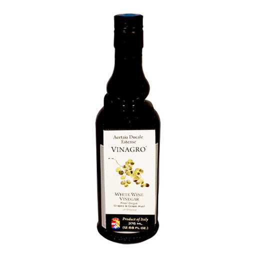 Acetaia Ducale Estense White Wine Vinegar from Pinot Grigio, 12.68 fl oz (375 ml)