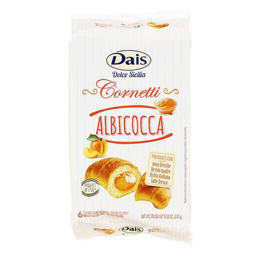 Dais Apricot-Filled Croissants, 9.52 oz (270 g)