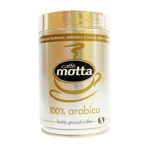 Caffe Motta 100% Arabica Ground Coffee, Tin, 8.8 oz (250 g)