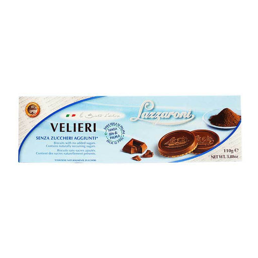 Lazzaroni Velieri Chocolate Cookies, 3.5 oz (100 g)