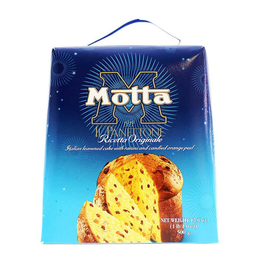 Motta Original Recipe Small Panettone, 17.6 oz. (500g)