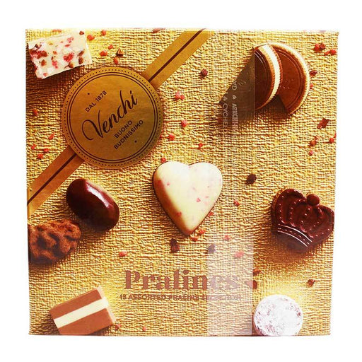 Venchi Assorted Praline Gift Box, 3.70 oz (105 g)