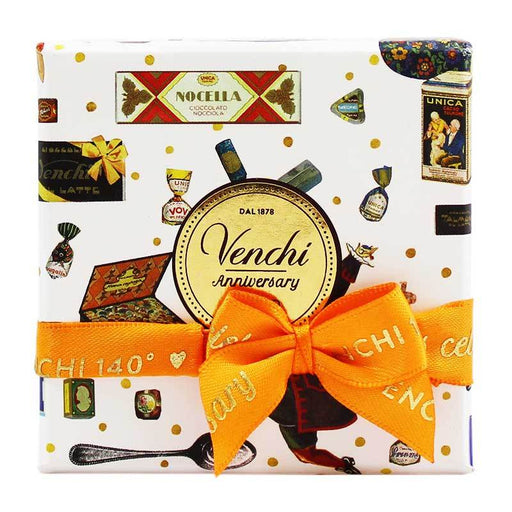Venchi Anniversary Mini Gift Box, 4 Count, 2.64 oz (75 g)