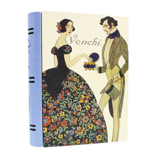 Venchi Large Book Tin, 7.05 oz (200 g)