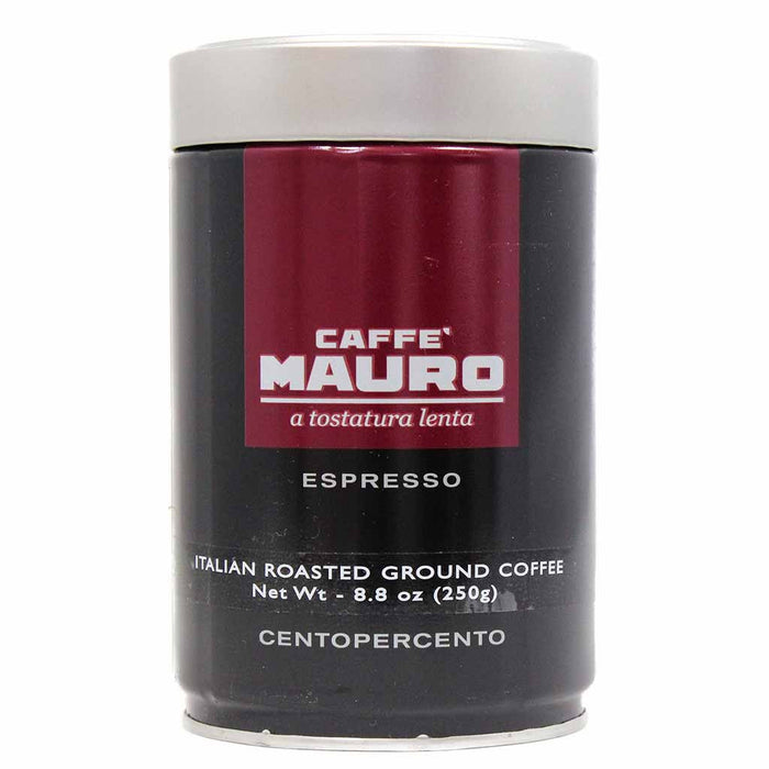 Fine Italian Espresso Coffee by Caffe Mauro 8.8 oz