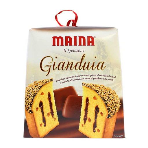 Maina Hazelnut Gianduia Panettone, 26.45 oz (750 g)