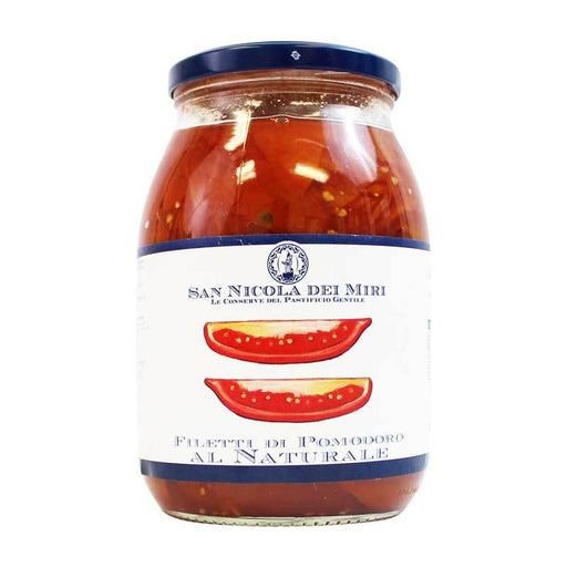 San Nicola dei Miri Sliced Red Tomatoes, 34.21 oz (970 g)