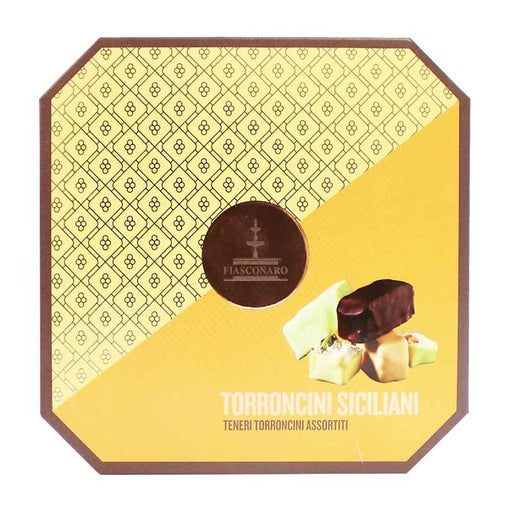 Fiasconaro Assorted Sicilian Torroncini in Gift Box, 8.8 oz (250 g)