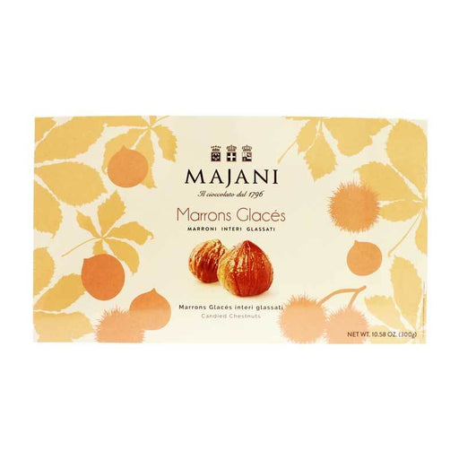 Majani Marrons Glacés Whole Candied Chestnuts, 10.58 oz (300 g)