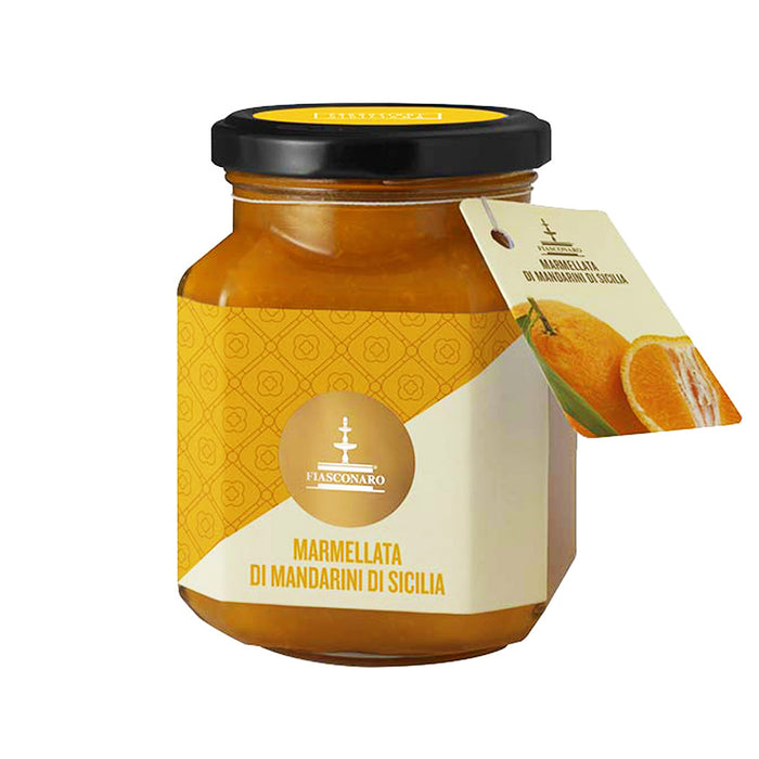 Fiasconaro Mandarin Orange Jam from Siciliy 12.6 oz