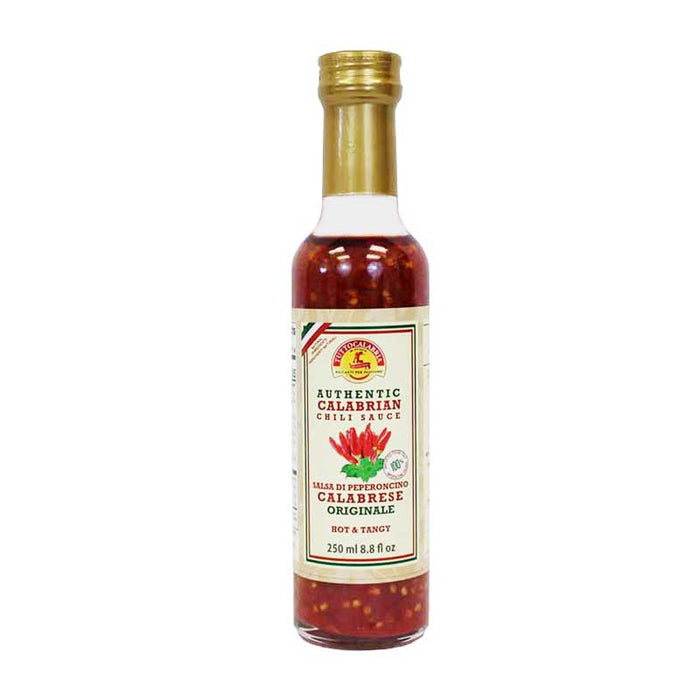 Tutto Calabria Authentic Calabrian Chili Sauce, 8.8 fl oz (250 ml)