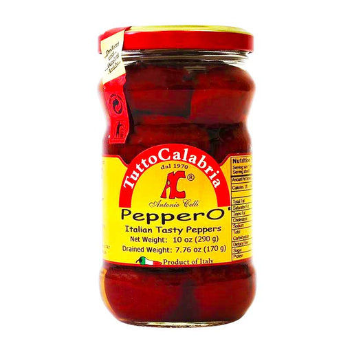 Tutto Calabria PepperO Italian Pickled Peppers, 10 oz (290 g)