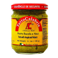 Tutto Calabria Pesto with Arugula and Walnuts, 6.7 oz (190 g)