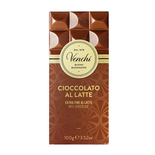 Venchi Extra Fine Milk Chocolate, 3.5 oz (100 g)