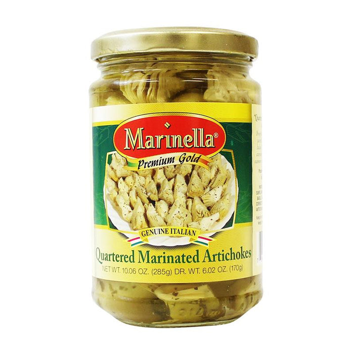 Marinella Premium Quartered Marinated Artichokes, 10 oz (285 g)