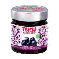 Toschi Blueberries in Syrup, 9.87 oz (280 g)