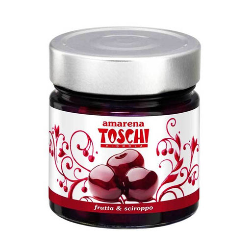 Toschi Black Cherries in Syrup, 10.6 oz (300 g)