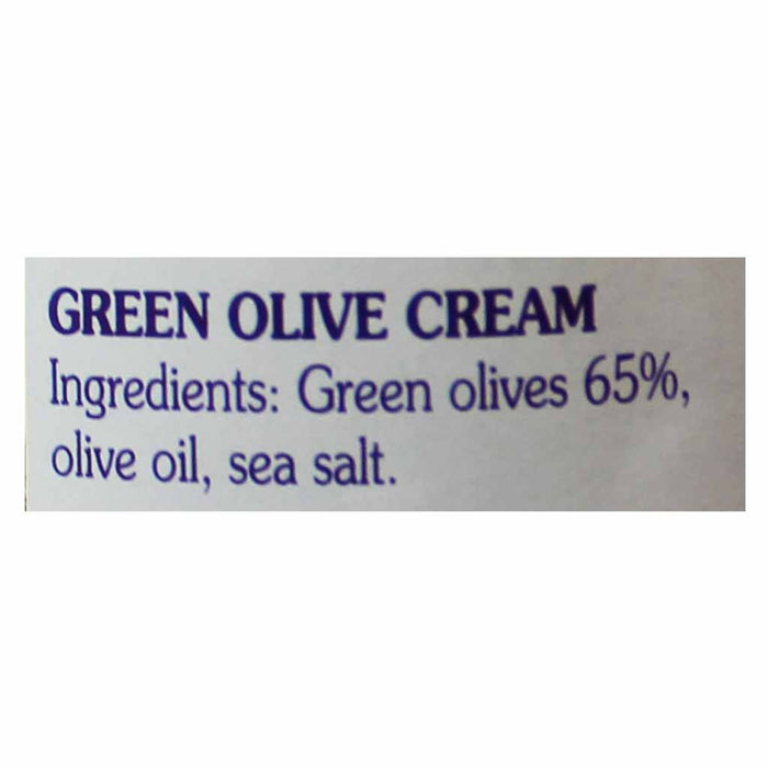 Coluccio Green Olive Cream 6.3 oz (180g)