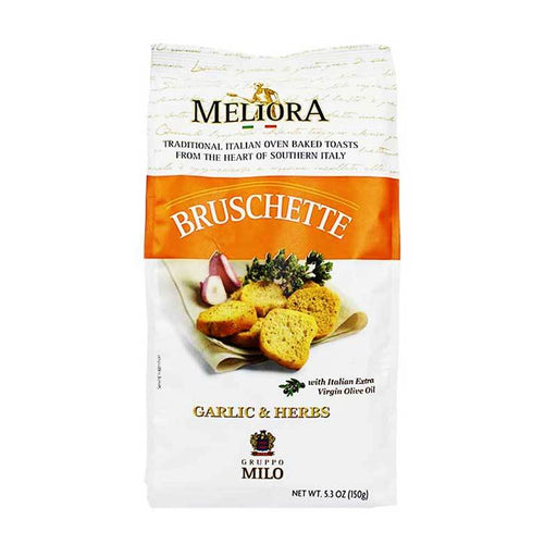 Meliora Garlic and Herb Bruschette Toasts 5.3 oz (150 g)