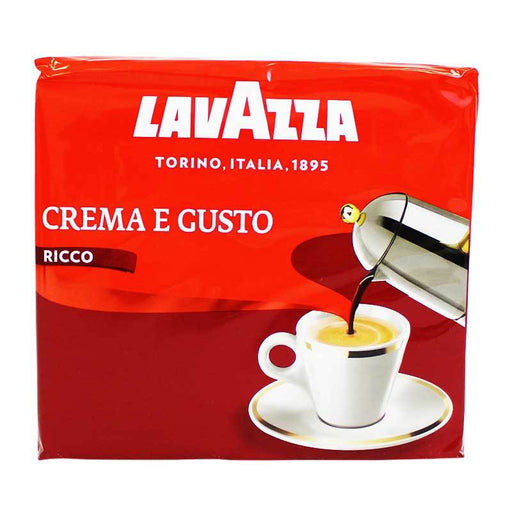 Lavazza Crema e Gusto 2-Pack Ground Coffee, 2 x 8.8 oz