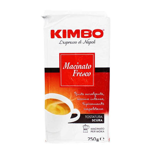 Kimbo Macinato Fresco Ground Coffee, 8.8 oz (250 g)