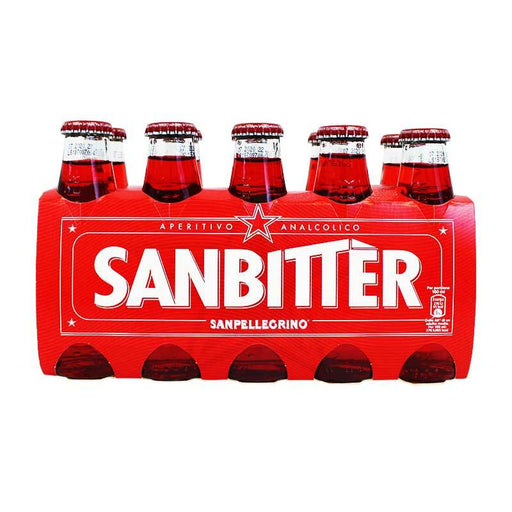San Pellegrino Sanbitter Red Bitter Drink, Pack of 10 x 3.3 fl oz
