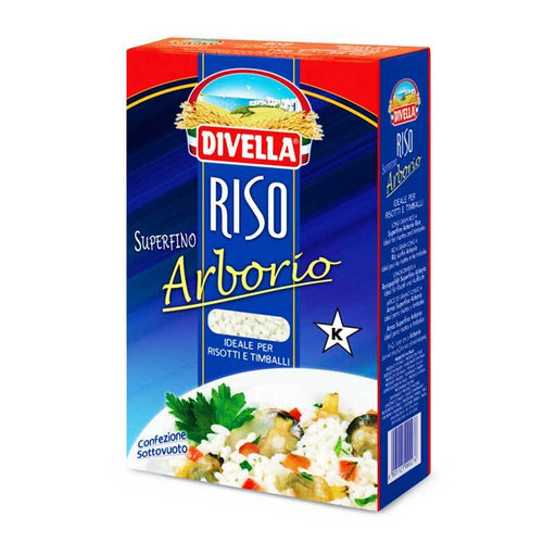 Divella Superfine Arborio Rice for Italian Risotto, 2.2 lb (1 kg)