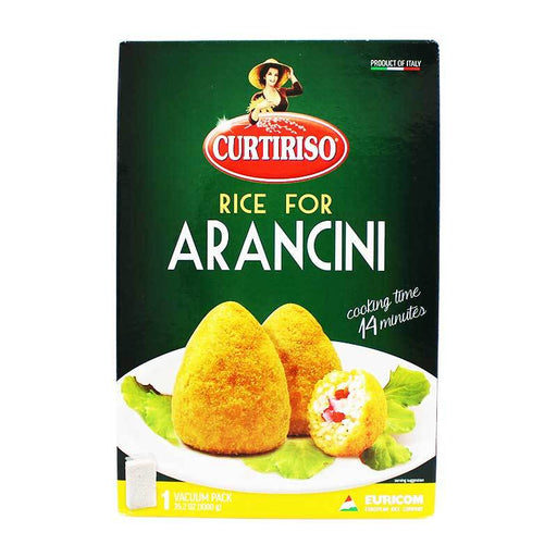 Arancini Rice Ground Rice for Arancini by Curtiriso, 2.2 lb (1 kg)