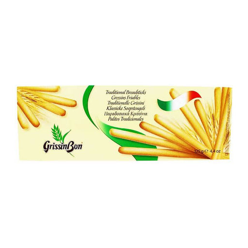 GrissinBon Traditional Grissini Breadsticks, 4.4 oz (125 g)