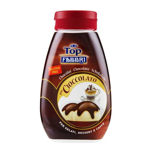 Fabbri Chocolate Mini Top Sauce, 8 oz (225g)